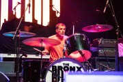 The Bronx performing at WaMu Theater (Photo by Alex Crick)