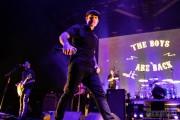 Dropkick Murphys performing at WaMu Theater (Photo by Alex Crick)