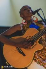 Naomi Wachira at Crown Hill Center   Seattle Living Room Shows 7 Year Celebration (Photo: Jason Tang)