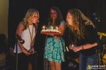Carrie Watt, Samantha Pierce, and Kristen Watt at Crown Hill Center   Seattle Living Room Shows 7 Year Celebration (Photo: Jason Tang)
