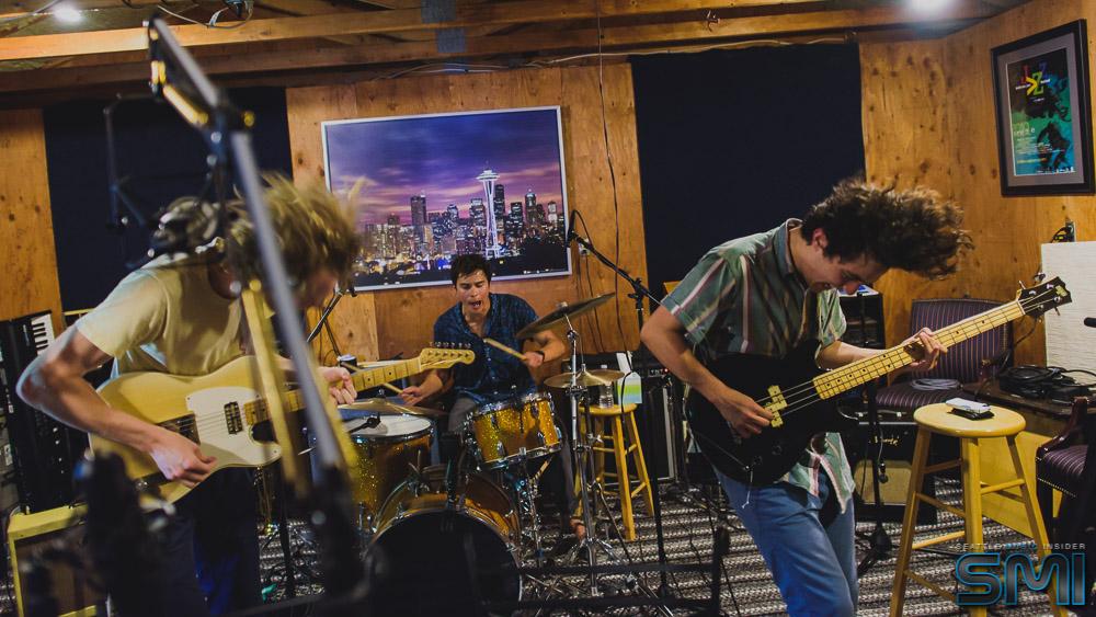 Naked Giants at Critical Sun Studios