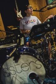 SISTERS at Critical Sun Studios (Photo: Jason Tang)