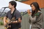 Nick Foster & Jazmarae Beebe at Chinook Fest Summit (Photo: Mocha Charlie)