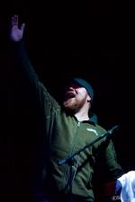 Steve Swatkins (w/ Allen Stone) at Chinook Fest Summit (Photo: Mocha Charlie)