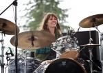 Heather Thomas (w/ Tess Henley) at Chinook Fest Summit (Photo: Mocha Charlie)