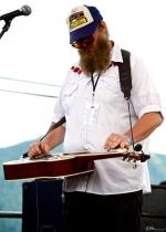 Matthew Reiger (w/ Blake Noble) at Chinook Fest Summit (Photo: Mocha Charlie)