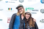 Allen Stone & Michelle Bounds at Chinook Fest Summit (Photo: Greg Roth)