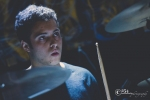 Landon Tapper (drums for Kristen Palmer) @ Studio 7 12-19-15 (Photo by: Mocha Charlie)