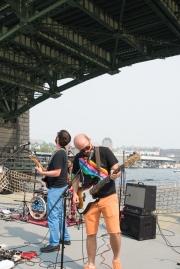 The Hoot Hoots perform on Lake Union (Photo- Christine Mitchell)