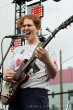 Girlpool performs at Capitol Hill Block Party. (Photo: John Lill)