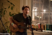 Christopher Paul Stelling at Portsmouth Book and Bar (Photo by Arlene Brown)
