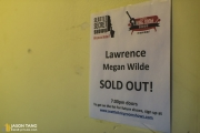 Lawrence, Megan Wilde, and DJ Indica Jones at Seattle Living Room Shows/Seattle Secret Shows