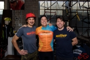 Dave Richter, Greg Roth, and Todd Herriott at Métier
