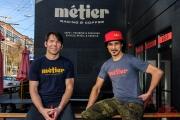 Todd Herriott and Dave Richter at Métier