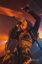 Arch Enemy at the Showbox Sodo (Photo: Mike Baltierra)