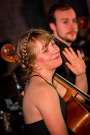 Passenger String Quartet at Upstream (Photo By- Mocha Charlie)