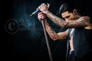 Andy Black @ Warped Tour (Century Link) 6-16-17 (Photo By: Mocha Charlie)