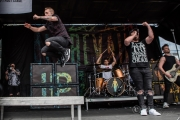 I Prevail @ Warped Tour (Century Link) 6-16-17 (Photo By: Mocha Charlie)