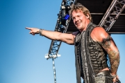 FOZZY @ Pain In The Grass 2017 (Photo By- Mocha Charlie)