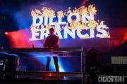 Dillon Francis at CHBP (Photo by Alex Crick)