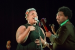 Grace Love and the True Loves at Fisherman's Village Music Festival (Photo by Christine Mitchell)