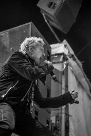 Billy Idol at Bumbershoot (Photo by Christine Mitchell)