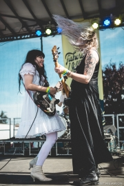 Death Valley Girls at FVMF  (Photo by Abby Williamson)