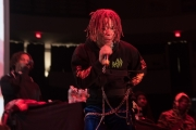 Trippie Redd at Agganis Arena Boston (Photo by Arlene Brown)