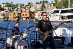 Massy Ferguson performs on Lake Union. (Photo: George Bentley)