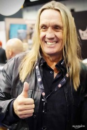 NICKO McBRAIN of IRON MAIDEN @ SONOR DRUMS