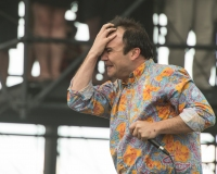 Future Islands perform at Sasquatch 2015! Photo by John Lill