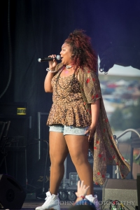 Lizzo performs at Sasquatch 2015! Photo by John Lill