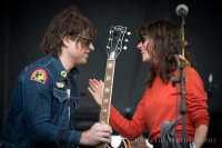 Ryan Adams performs with Natalie Prass at Sasquatch 2015! Photo by John Lill