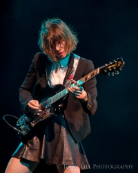 Sleater-Kinney perform at Sasquatch 2015! Photo by John Lill