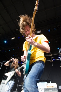 Diarrhea Planet performs at Sasquatch 2015! Photo by John Lill