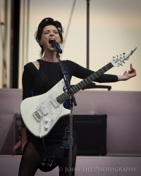 St Vincent performs at Sasquatch 2015! Photo by John Lill