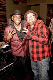 Wanz & Andrew Landers at Jammin Challenge (Photo: Bill Bungard)