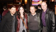 Chase Manhattan-Night Argent (last year's winner) & wife Elise, Roland Thompson, Mark Gordon at Jammin Challenge (Photo: Bill Bungard)