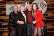 Mark Gordon, Linda Gordon, Jeff Heiman-London Tone Music, Megan Wilde at Jammin Challenge (Photo: Bill Bungard)