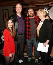 Megan Wilde, Mark Gordon, Andrew Landers, Linda Gordon at Jammin Challenge (Photo: Bill Bungard)