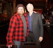 Andrew Landers & Bob Tomberg-President of Music Aid NW at Jammin Challenge (Photo: Bill Bungard)