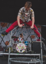 Family Force 5 @ White River Amphitheater (Photo: Mocha Charlie)