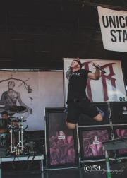 We Came As Romans @ White River Amphitheater (Photo: Mocha Charlie)