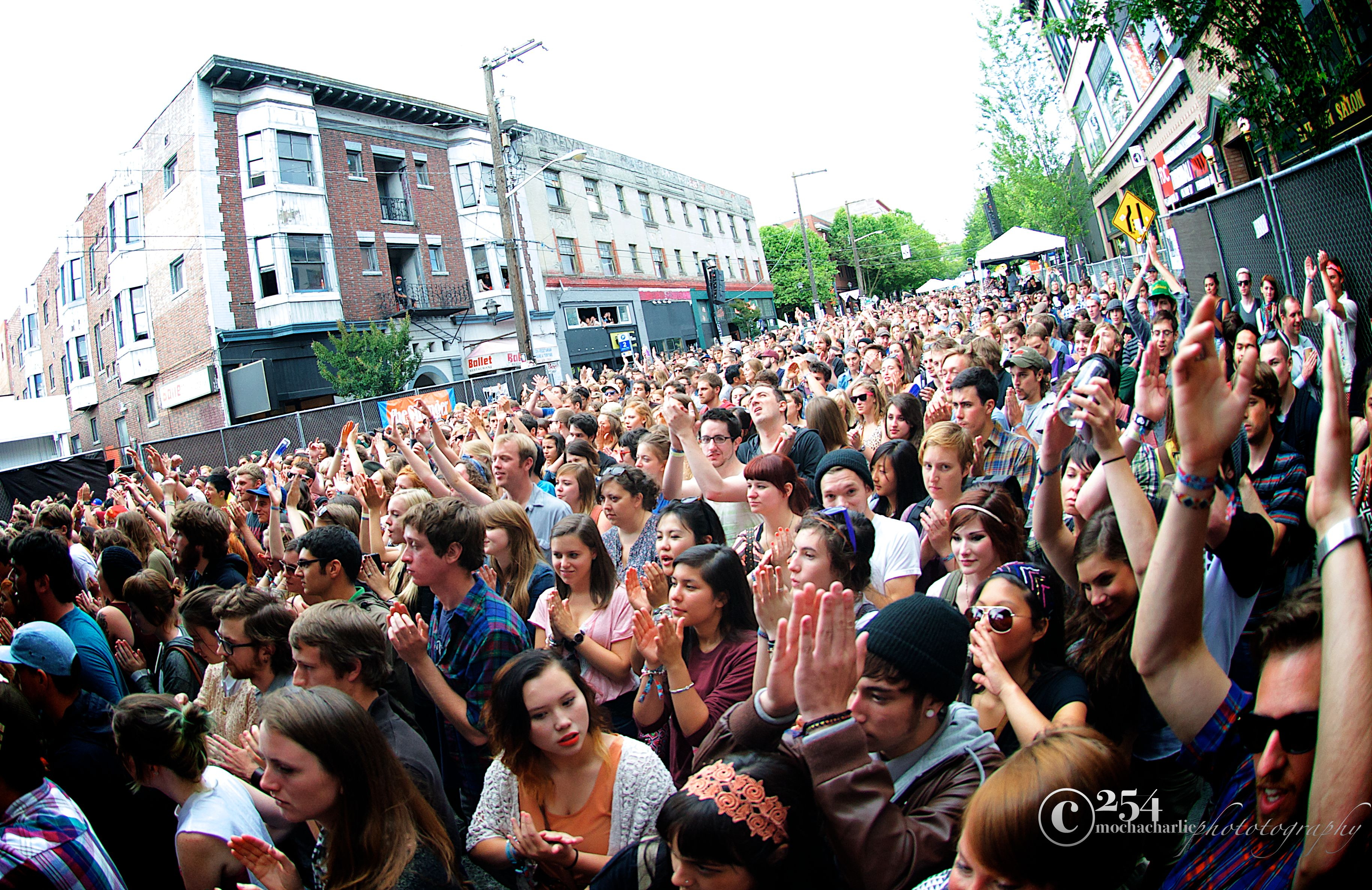 Capitol Hill Block Party 2012: Day 1