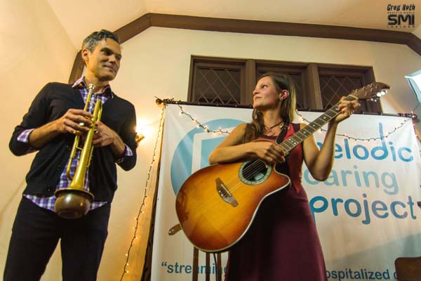 Michel Navedo w/ Pepper Proud @ Seattle Living Room Show (9/15/12) Photo By Greg Roth