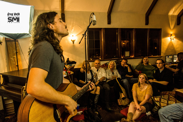 Andrew Vait @ Seattle Living Room Show and Melodic Caring Project (9/15/12) Photo By Greg Roth