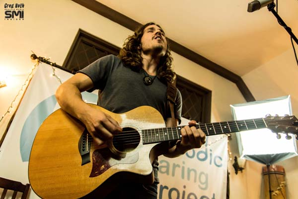 Andrew Vait @Seattle Living Room Show and Melodic Caring Project (9/15/12) Photo By Greg Roth