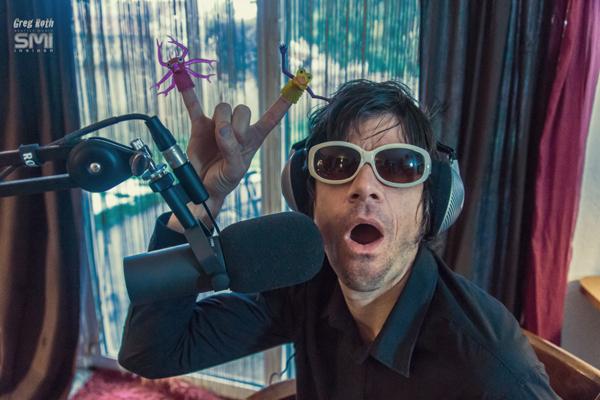 Dave Einmo of Daydream Vacation in Studio (Photo by Greg Roth)