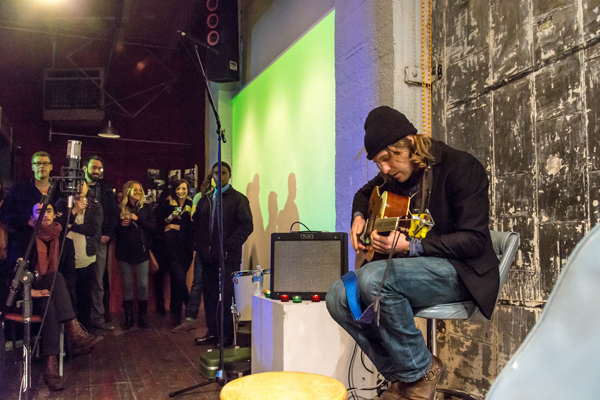 Seattle Living Room Shows and Melodic Caring Project: Daniel Blue (Photo by Greg Roth)