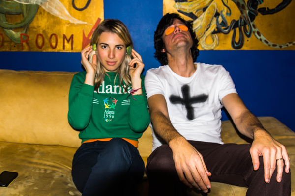 Daydream Vacation backstage at The Vera Project – 11/30/12 (Photo by Greg Roth)